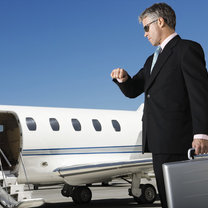 podróżowanie samolotem