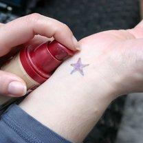 podkład na tatuaż