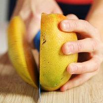 mango obieranie