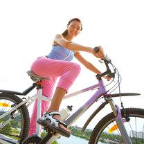jeżdżenie rowerem w plenerze