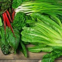 zielone warzywa w diecie