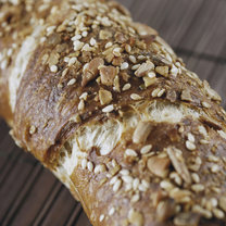 brązowy chleb