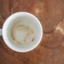 usuwanie osadu z kawy
