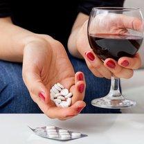 alkohol i leki