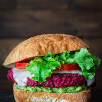 burger z buraków