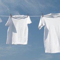 białe pranie