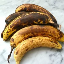 banany dojrzałe