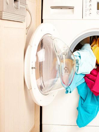 skurczone ubranie