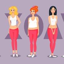 Rozróżnia się trzy typy kobiecych sylwetek: jabłko, gruszkę i klepsydrę. Na ich podstawie dobiera...